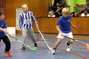 Inga mål räknas i Knatteligan. Men det blir heta fajter ändå. Som mellan IFK Bergviks lag 2 och Vågbros lag 1.