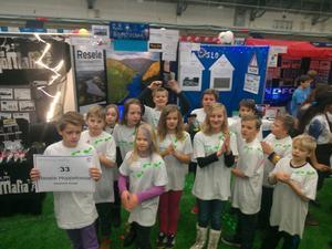 Lag Resele Hoppetossar från klass 4-6 på Resele skola deltog i helgens stora skandinaviska final i legotävlingen First Lego League i nordnorska Bodö.