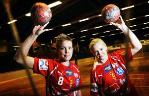 Johanna Olsson och Ida Skoglund har fått en rivstart i allsvenskan med Hellton.