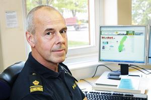 Klassiskt polisarbete ligger bakom gripandet av den 22-årige dieseltjuven, menar Jörgen Aller vid polisen.