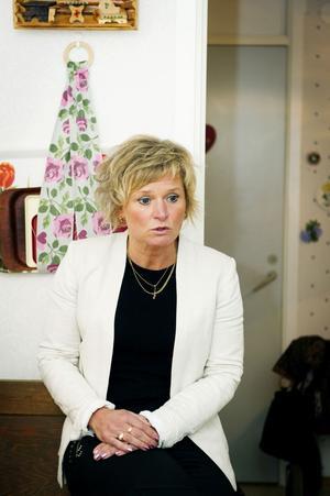 Omsorgsnämndens ordförande Anna-Belle Strömberg.