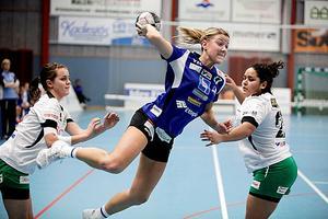 Handboll, IVH Västerås-Rimbo HK i Bombardier Arena i Västerås. Lisa Brandberg i IVH.