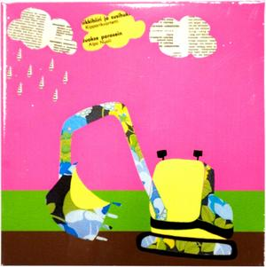 Charmig. Pryder sin plats på vilken barnrumsvägg som helst gör den här charmiga illustrationen signerad Tina Backman. Illustrationen ingår i henne senaste kollektion som har fokus på barn och kök. Bilden kostar cirka 300 kronor i butik.