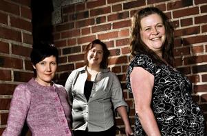 De numera vuxna tjejerna i Troll. Nina (Norberg) Wikberg, Monica (Blom) Malm och Helena Caspersson. Foto:Lars Dafgård