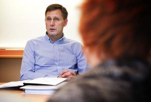 Christer Jönsson är nytillträd ordförande i Gymnasierådet. Han har bott i kommunen sedan 1983 och arbetar på företaget Ventus forskning och utveckling.