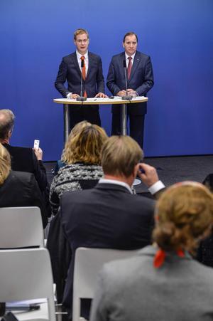 Fridolin och Löfven, ett omaka par.