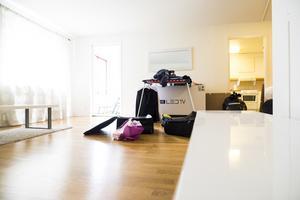 Lägenheten i Sundsvall som varit Rúnar Sigurjónssons hem är nu utstädad.
