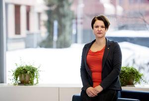 Jenny Bjerkås kommer nu att från talarstolen vid S-kongressen att agera för att lagen skräps kring arbetsmiljöbrott.