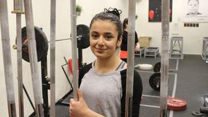 16-åriga Fadya Mirza lyfter fram den goda gemenskapen i klubben.