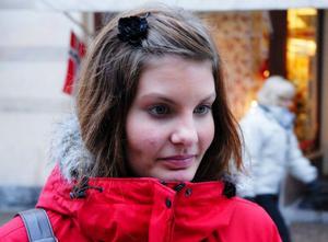Jonna Björk, 15, Ytterhogdal– Nej, det brukar jag inte. Vet faktiskt inte varför.