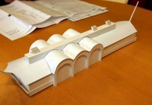 För 1,8 miljoner får köparen färjan, bygglovet och ritningarna.