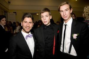 Dany, Jacke och Wicke kallade sig själva för singelpinglorna.