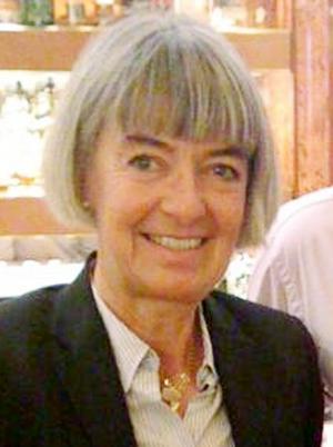 Karin Henriksson, ordförande för Aktiespararna i Gävle-Sandviken.