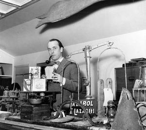 10 mars 1951. Vallbybutiken.