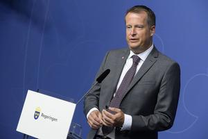 Digitaliseringsminister Anders Ygeman (S). Foto: Bertil Ericson/TT