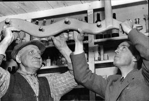 6 juni 1952. I Snarhemsbutiken från Uttersberg.