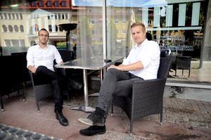 Jacok Dakkour och Pontus Ryding fastnade för Pinchos koncept när de var ute för att hämta inspiration till att göra om Tzatzikis gamla lokal.