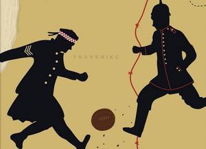 Omslagsbild på Pehr Thermaenius bok Julmatchen på västfronten.