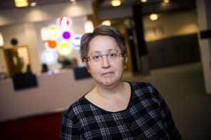 Moderaternas Annica Jonsson.