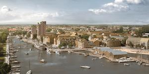 Genom det ambitiösa stadsutvecklingsprojektet Norrtälje hamn visar staden att man både vill, kan och vågar satsa på framtid och tillväxt, skriver Göran Brocknäs, Dag Nordström och Mariann Lindh.