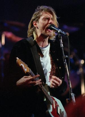 Kurt Cobain 1993.