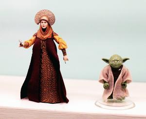 Prinsessan Leia och Yoda har redan hamnat på museum.