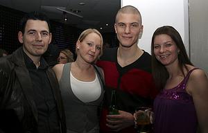 Pluto. Edvard, Sandra, Martin och Camilla