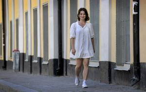 """FRAMÅT! Claudia Galli tycker om utmaningar och räds inte misslyckanden. """"Jag ser det som ett sätt att gå vidare                        och utvecklas. Hela grejen med livet tycker jag är att få nya perspektiv på olika saker"""", säger hon."""