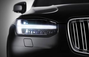 Volvo har bara släppt en bild på hur nya XC90 ser ut från sidan. Under tisdagen visas den upp för första gången.