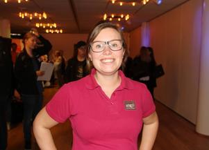 Hanna Engström Löwenborg är regionchef för Ung företagsamhet i Gävleborg, hon hoppas på att det är många ungdomar som vill prova på att starta och driva ett eget företag.