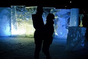 Det var vackert ur många synvinklar när Glacialen i Fränsta invigdes under fredagskvällen.