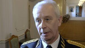 Sverker Göransson, överbefälhavare.