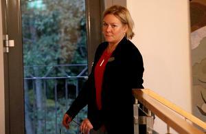Anna Hedensjö-Johansson avslöjade under tisdagen resultatet av Svenskt Näringslivs rankning av företagsklimatet.