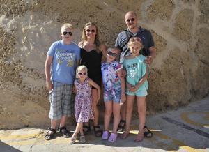 Familjen Johansson från Åland har bott på Gozo de senaste sju åren där de hittat sitt paradis.