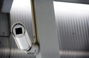 Det krävs tillstånd för att få använda övervakningskameror.