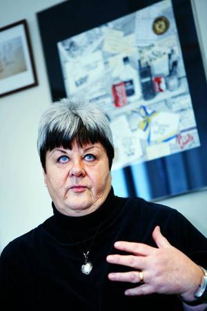 Elisabet Yngström fortsätter att regera trots kaos i både kommunhus och i den politiska bakgrunden. Det är illa för Ragunda.  Arkivbild:  anna-karin pernevill