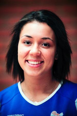 Danielle Elvbo svarade för sitt livs bästa division 1-helg.