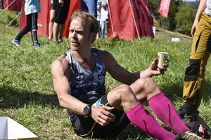 John Lagerskog från Östersund vann herrarnas 28 kilometer med tiden 3.19.23.