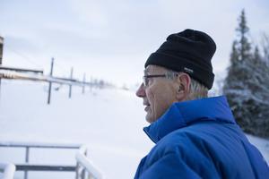 – Om det är någonstans som det spökar så är det här, säger Anders Hedström.