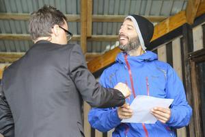 Och en ny svensk medborgare välkomnades också, den flygande Långåbon Ivan Guidobaldi från Italien.