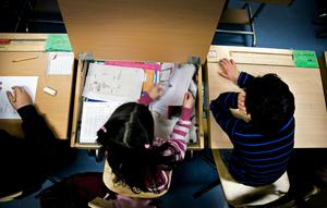 Barnen säger att de trivs bra i skolan och att de har lärt sig mycket under den tid de varit i Junsele.