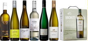 Passande dryckesval till kräftorna för den som hellre dricker vin än öl till de dillkokta skaldjuren.