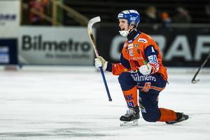 Eric Lönngren i Bollnäströjan för två säsonger sedan.