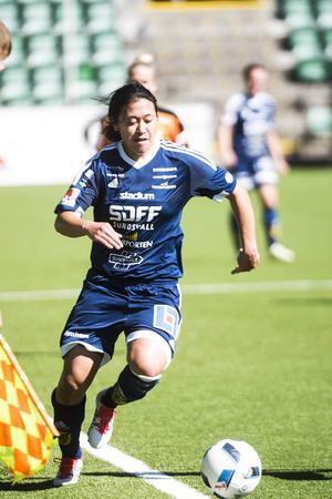 Danielle Au stod för matchens första mål, vilket även blev SDFF:s enda mål för dagen.