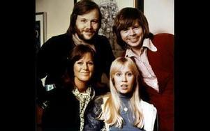 ABBA från tiden då det begav sig. FOTO:SCANPIX