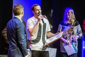 Petter Thelander utsågs till årets unga företagare 2014.