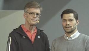 Sören Ericson var expert i ST:s tv-studio.