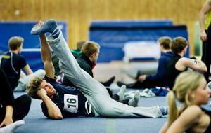 Stig Vig. Stretcha är är viktigt inom alla sporter. Hampus Söderström vet det.