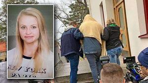 Tova Moberg 22-årige pojkvän åtalades på fredagen för mord och grov kvinnofridskränkning.