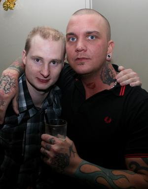 Blue Moon Bar. Svante och Bobbo